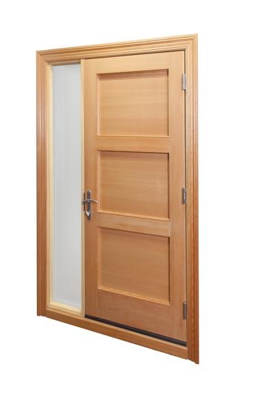porte d 39 entr e en bois menuiserie delisle. Black Bedroom Furniture Sets. Home Design Ideas